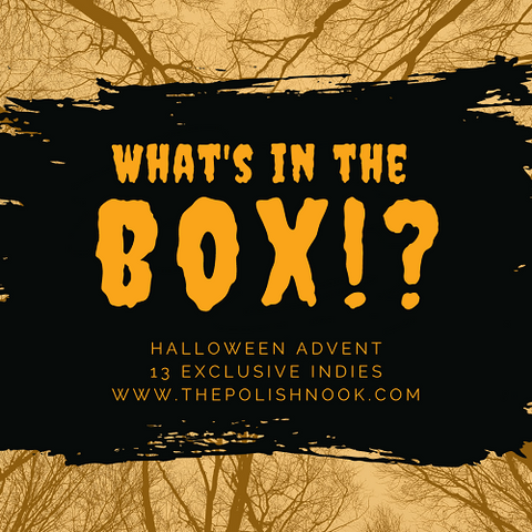 What's In The Box!? 2020 Halloween Advent
