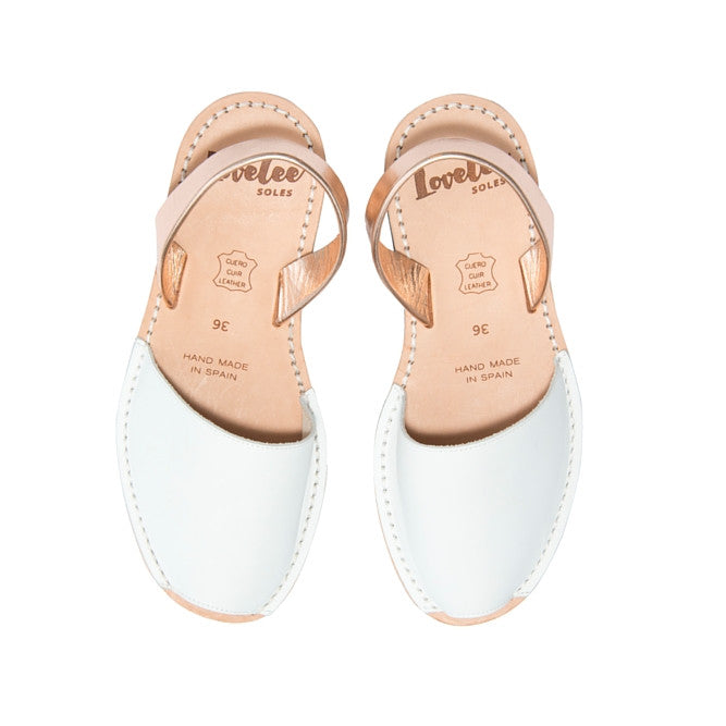 WHITE & ROSE GOLD - MINOR FLAW SIZE 40