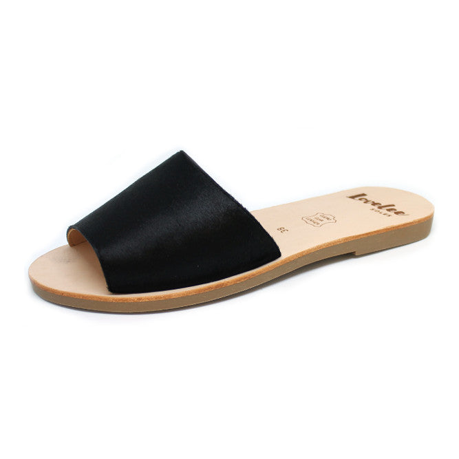LOVELEE SLIDE - BLACK PONY SIZE 36