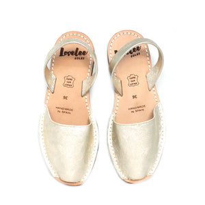 Lovelee Soles | Champagne Gold