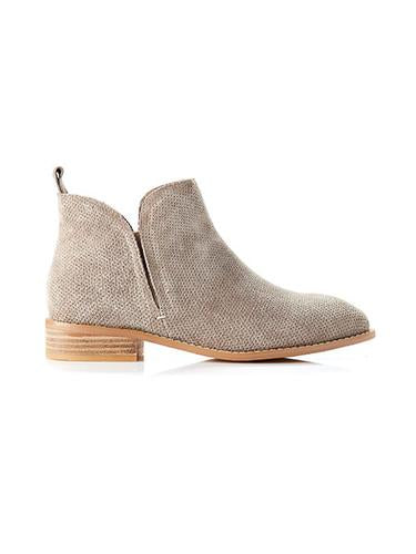 Douglas Boot Taupe Side