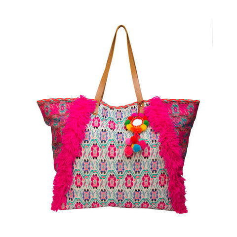 LUXE BOHO FLOWER MARKET BAG