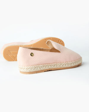 GOLDEN ESPADRILLE BLUSH SNAKE