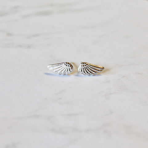 LOVELEE DAINTIES ANGEL WING EARRINGS
