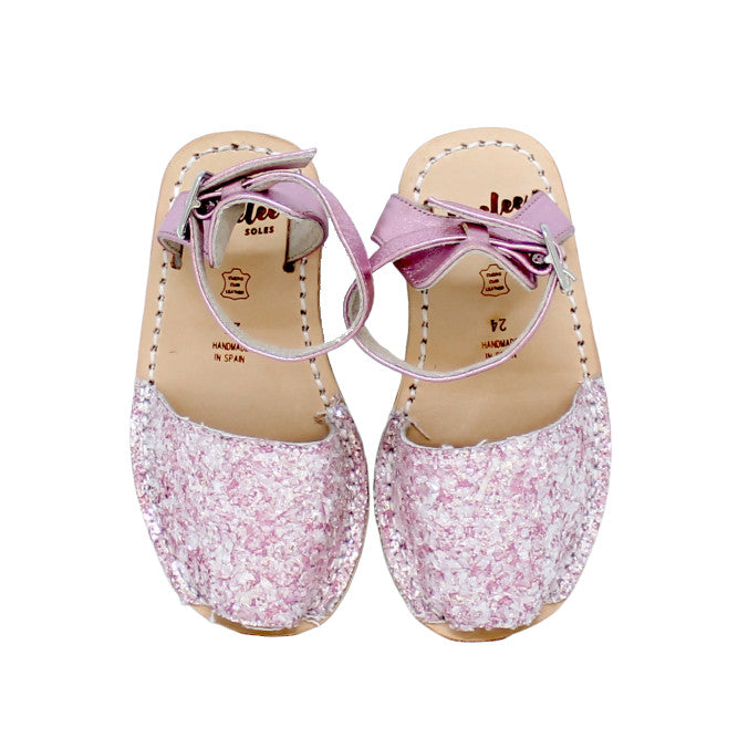 LIL' LOVELEE PRETTY IN PINK ANKLE STRAP