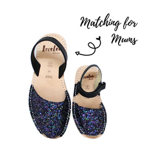 LIL' LOVELEE MULTI-BLACK GLITTER