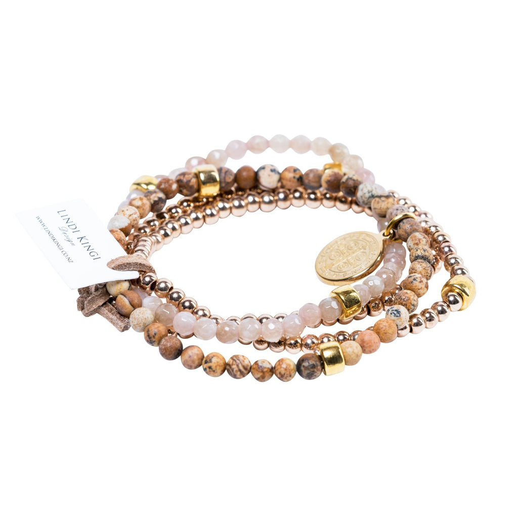 Cafe au lait bracelet set