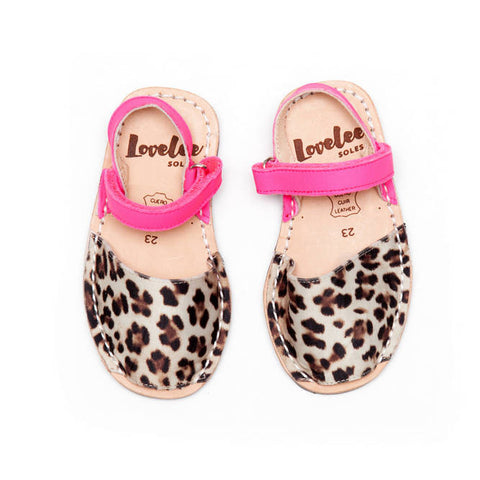 Lil Lovelees Leopard and pink