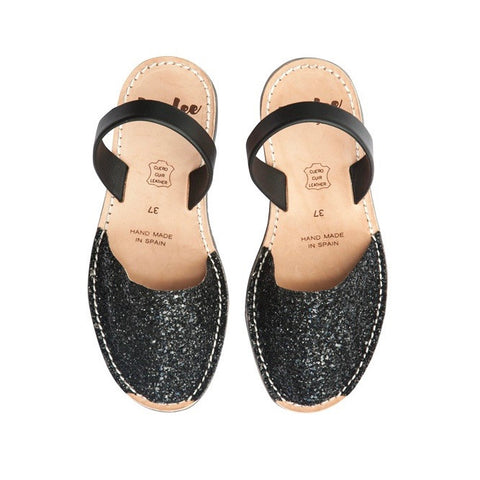 Lovelee Black Glitters