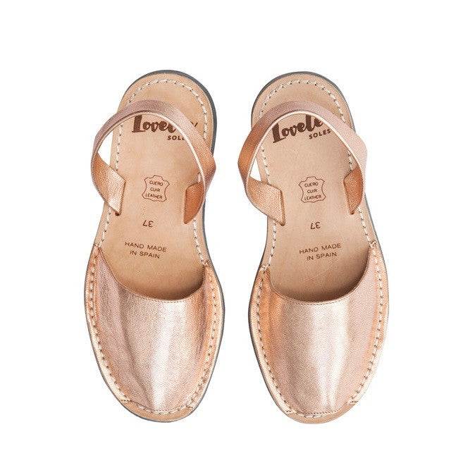 ROSE GOLD METALLICS - MINOR FLAW SIZE 41