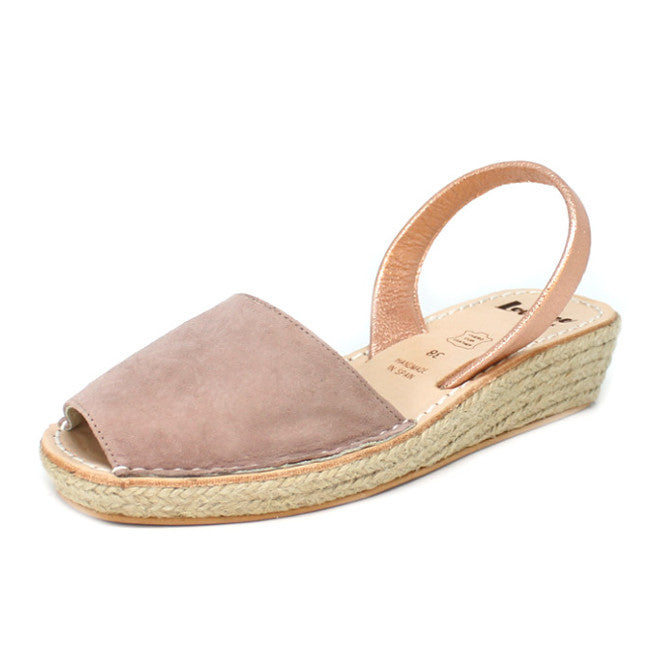 MOCHA PINK MINI ROPE WEDGE - MINOR FLAW SIZE 40