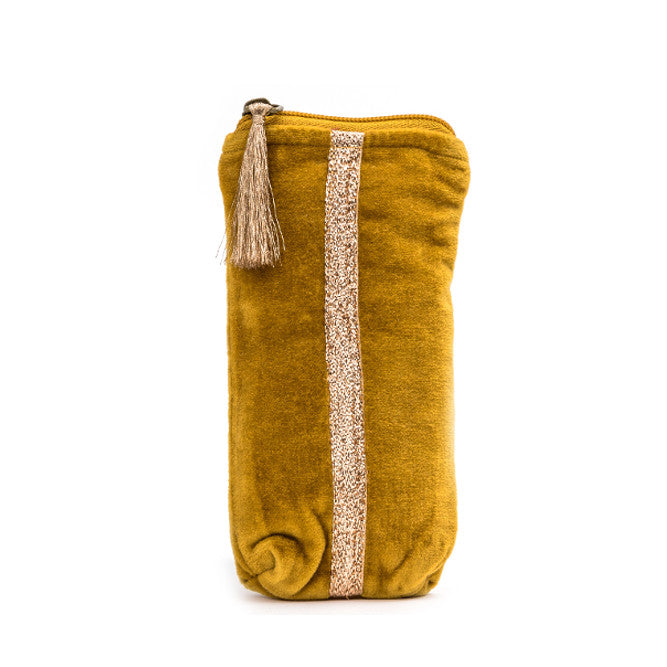 Mustard Glasses Case | Lovelee Soles