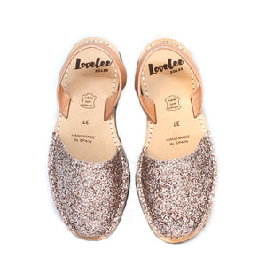 Pink Champagne Glitters | Lovelee Soles