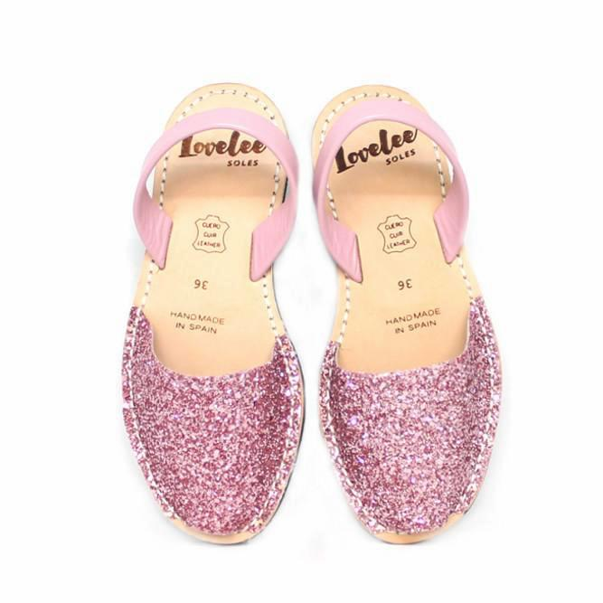 Candy Pink Glitters | Lovelee Soles