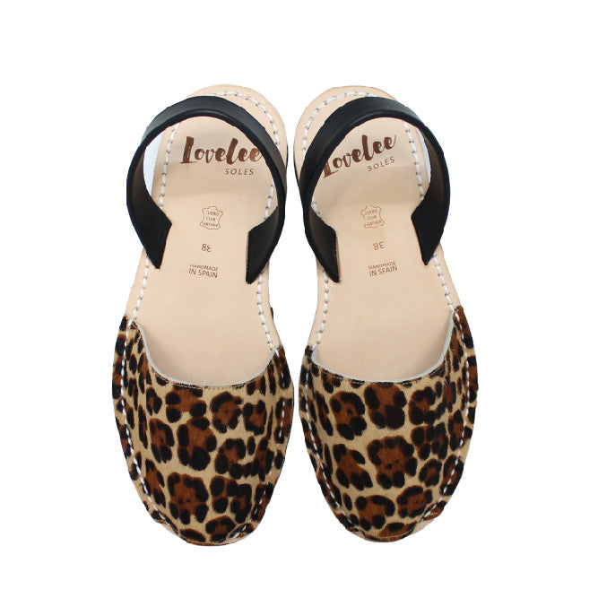 Pony Leopard & Black | Lovelee Soles