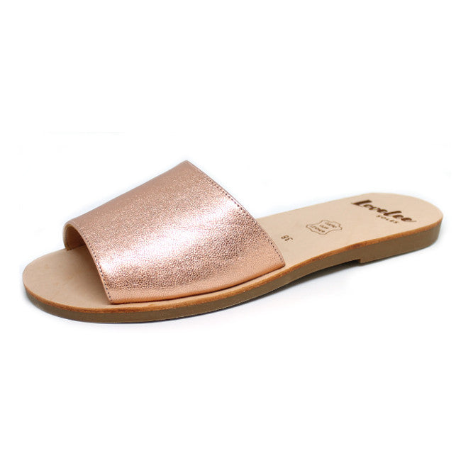 LOVELEE AMOR SLIDE - ROSE GOLD