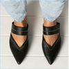 STACEY LEATHER MULE | BLACK SNAKE