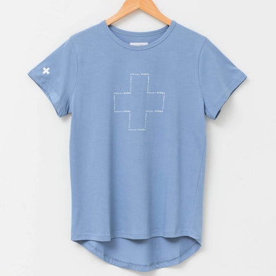 Stella + Gemma Denim t-shirt | Lovelee Soles