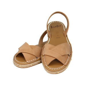 STELLA PEEP TOE IN TAN