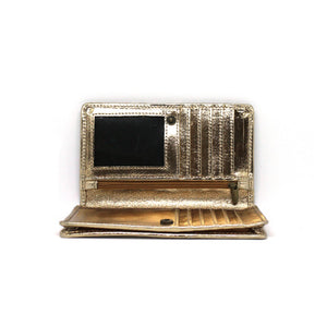 LUXE WHITE GOLD WALLET