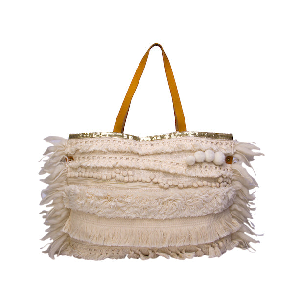 Luxe Boho embroidered bag