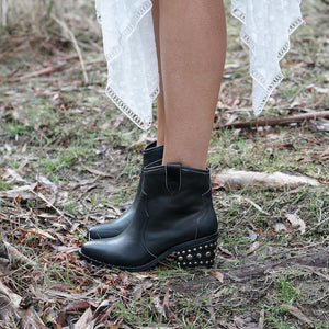 WILLOW WESTERN ANKLE BOOT