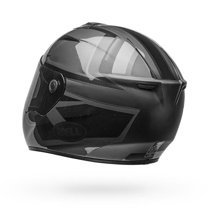 Bell SRT Helmet - Predator Blackout Matte /Gloss Black