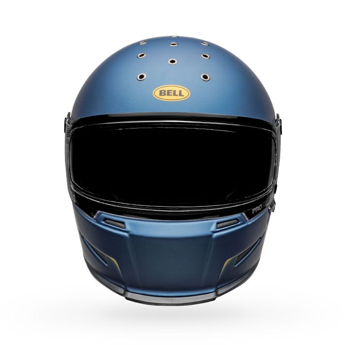 Bell Eliminator Helmet -Vanish Matte Blue  / Yellow