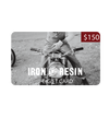 Iron & Resin Gift Card
