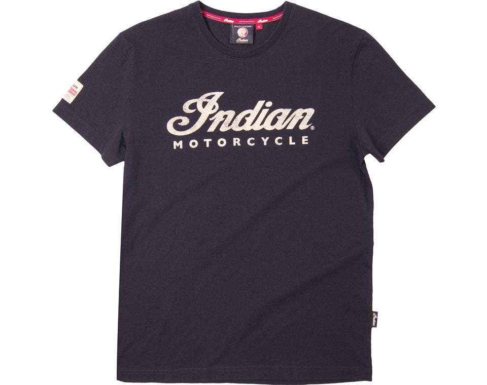 Indian Script Tee - Black