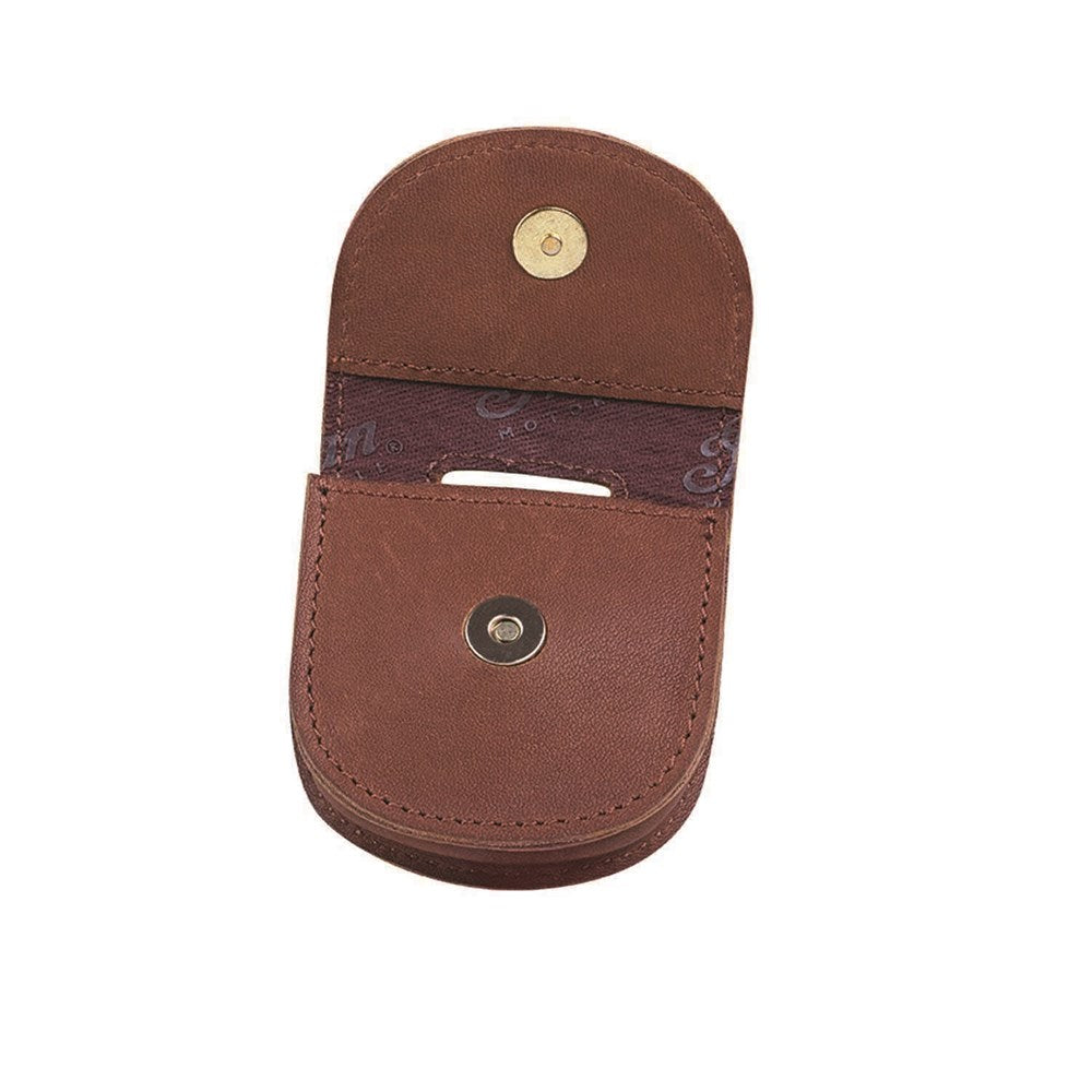 Indian Leather Keyfob Carrier