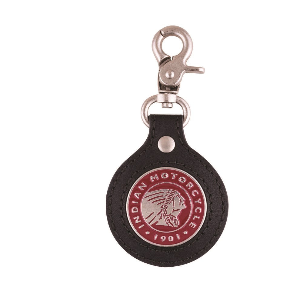 Indian Icon Leather Keyring