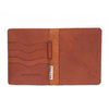Leather Vagabond Wallet Tan
