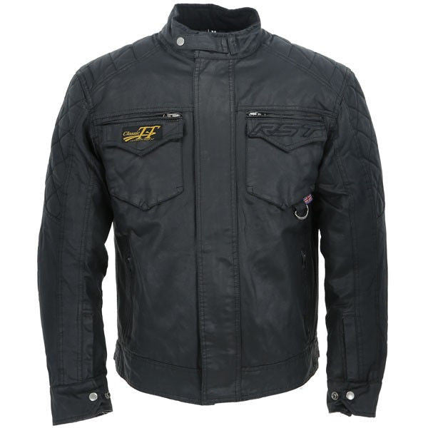 RST Isle of Mann TT Short Wax Jacket