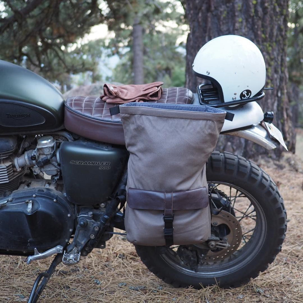 Iron & Resin Moto Pannier