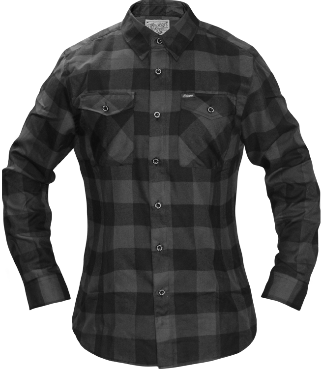 Dixxon Womens Murked Out Flannel