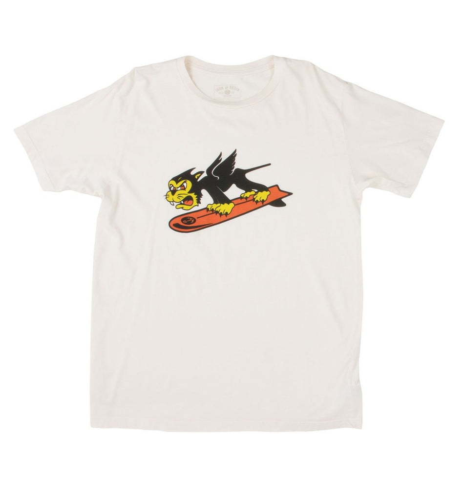 Iron & Resin Surf Cats Tee
