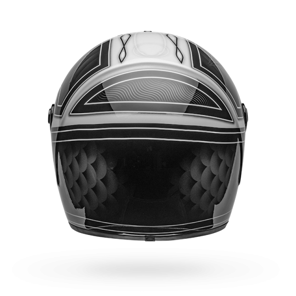 Bell Eliminator Helmet Outlaw Gloss Black / White
