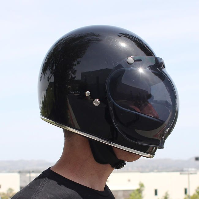Biltwell Bubble Shield - Smoke