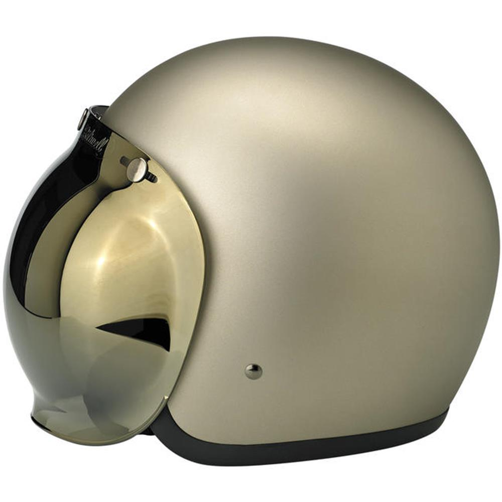 Biltwell Bubble Shield - Gold Mirror