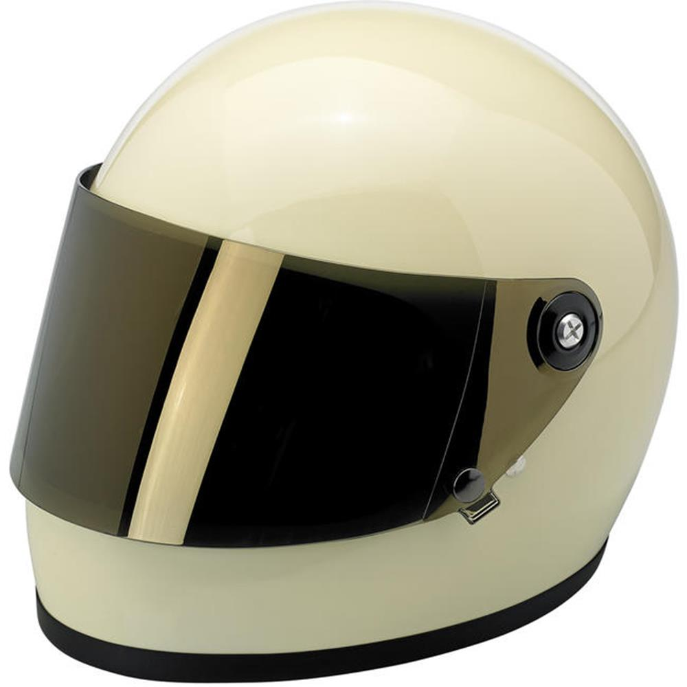 Biltwell Gringo Flat Shield - Gold Mirror Mirror