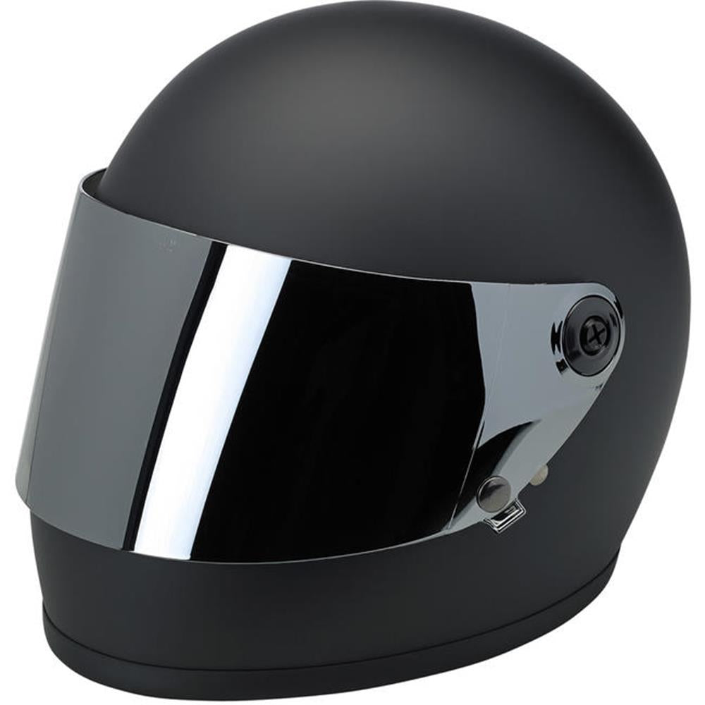 Biltwell Gringo S Gen 2 Flat Shield - Chrome Mirror