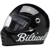 Biltwell Lane Splitter Helmet - Gloss Black Factory