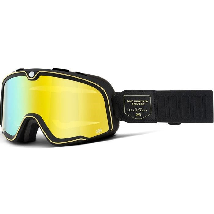 100% Barstow Goggle - Caliber Flash Yellow