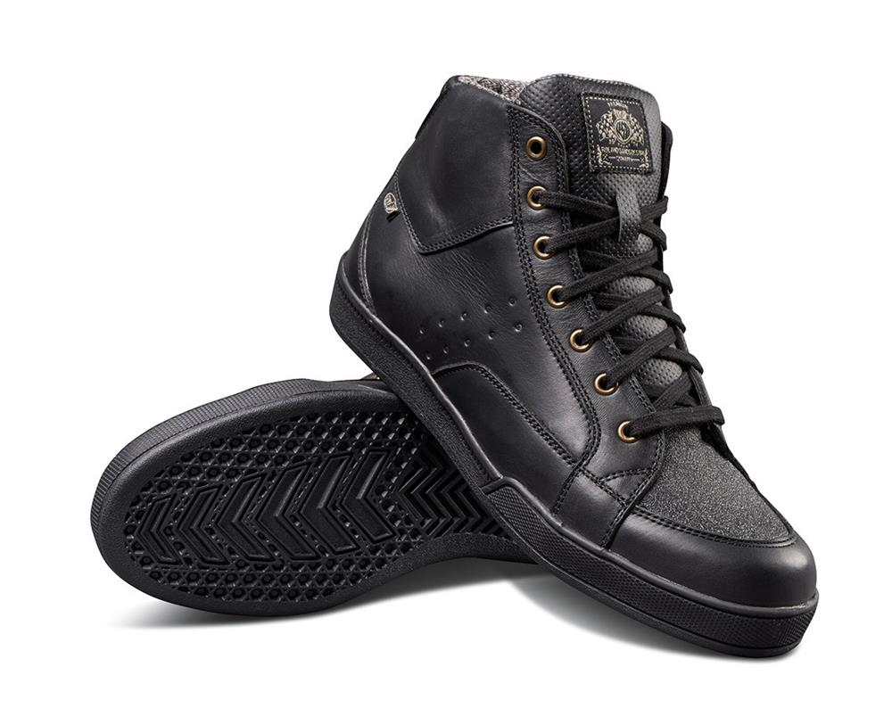 Roland Sands Fresno Riding Shoe - Black