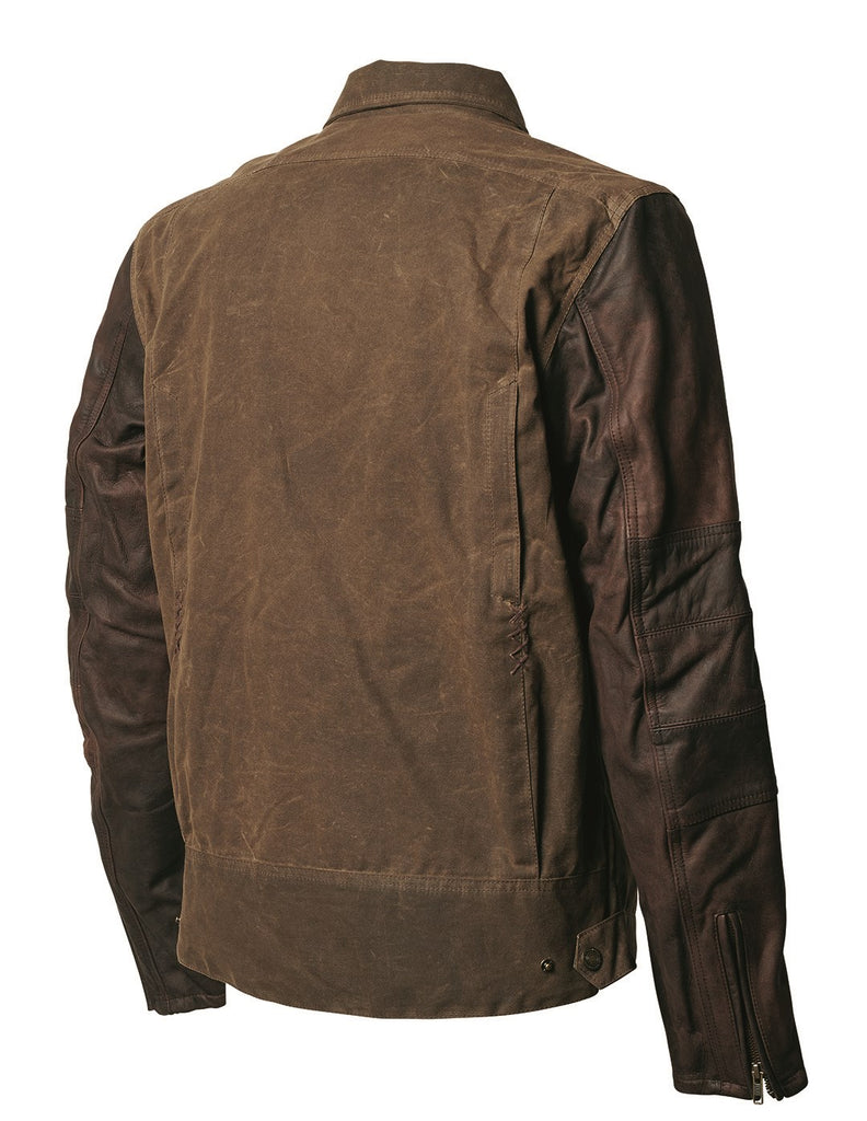 Roland Sands Johnny Waxed Cotton & Leather Jacket