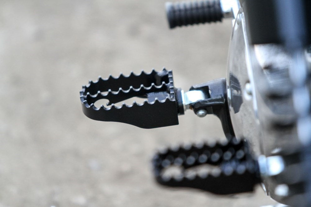 Burly Brand MX Style Footpegs - Black