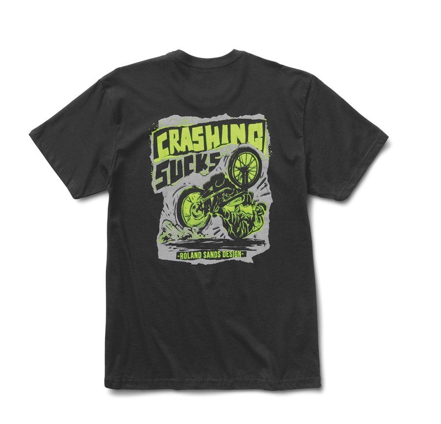 Roland Sands Crashing Sucks Tee