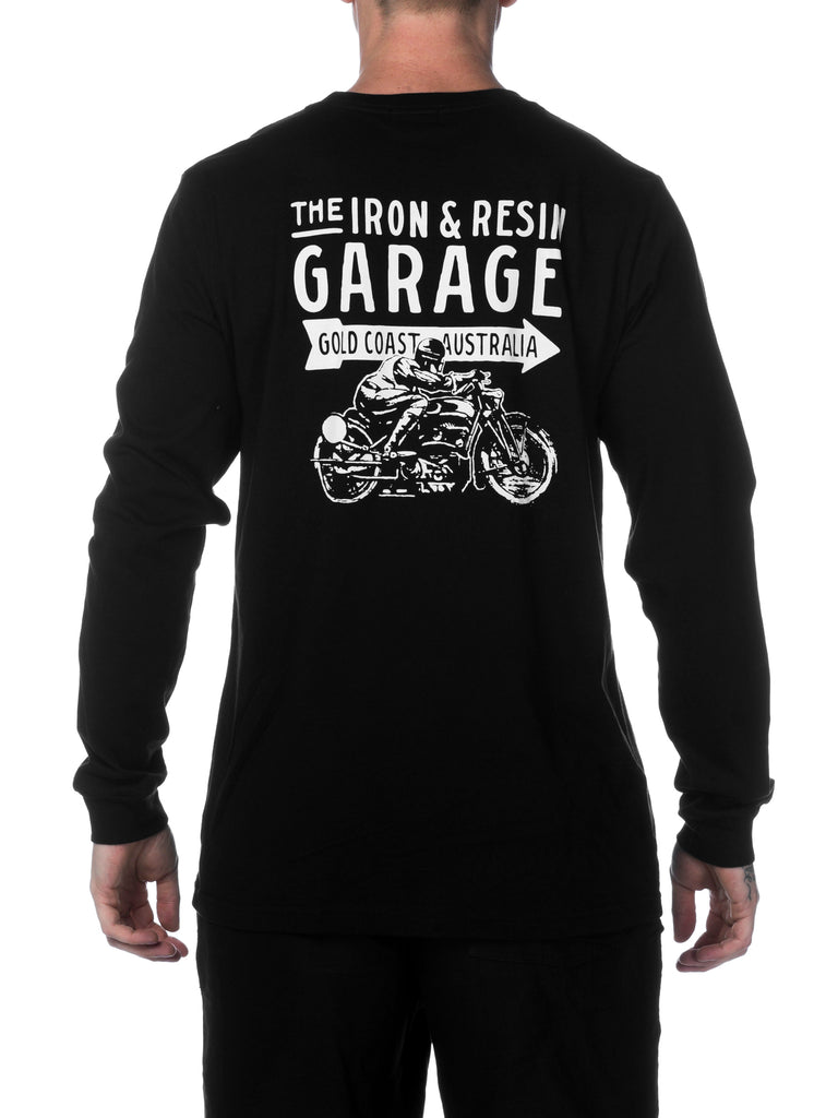 I&R Garage Long Sleeve Tee