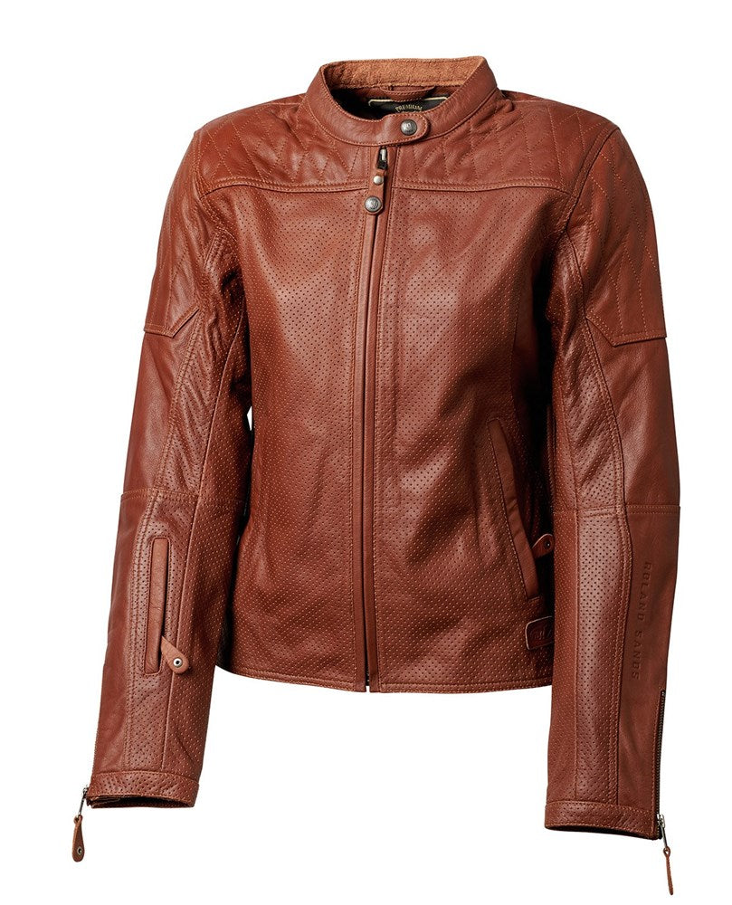 Roland Sands Trinity Perforated Womens Jacket